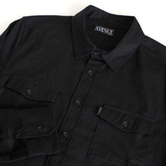 Avenue Work Shirt Black